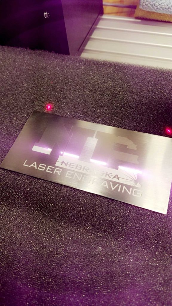 Nebraska Laser Engraving!